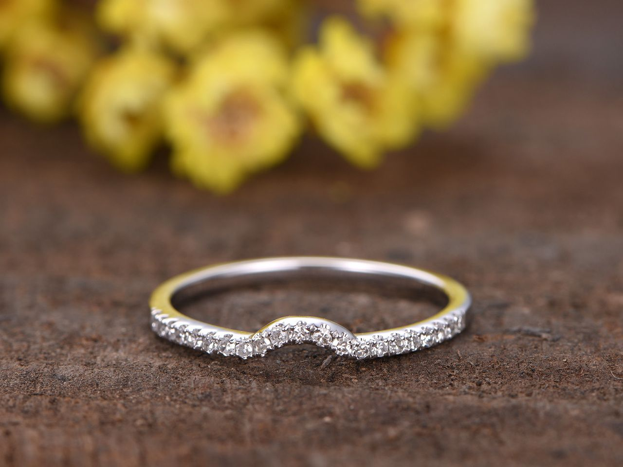 49++ Thin wedding bands with diamonds gold ideas in 2021