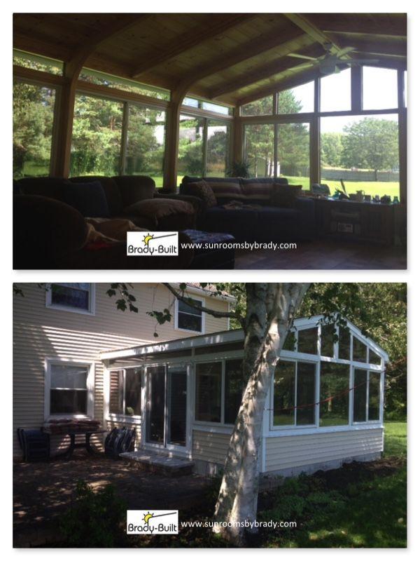 Brady-Built offers custom built sunrooms, solariums ...