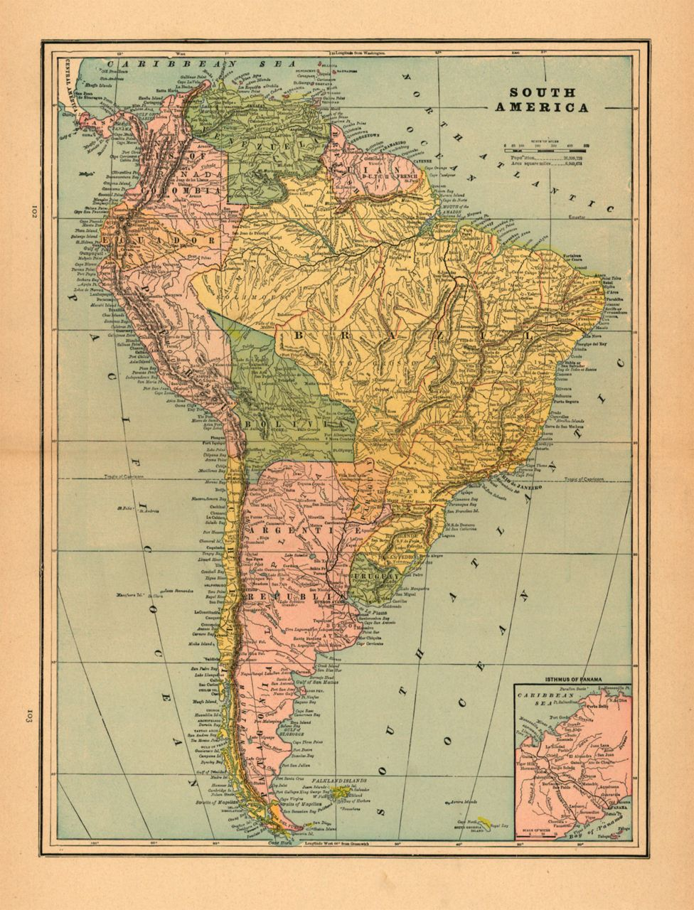 South America 1899 By George Cram Tumblr The Cartography Collective Old Maps Cartography Map Cartography