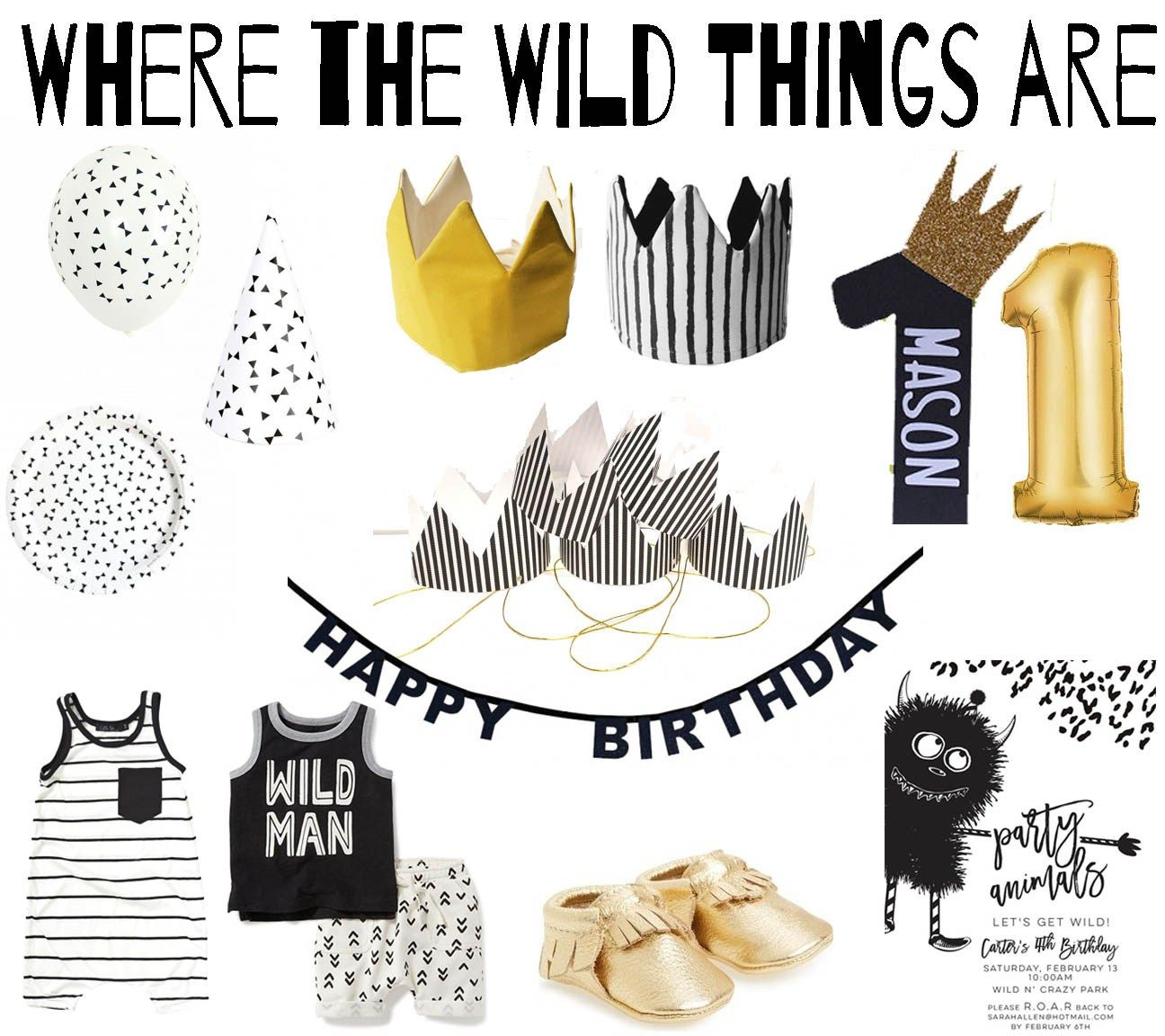 Where the Wild Things Are Party