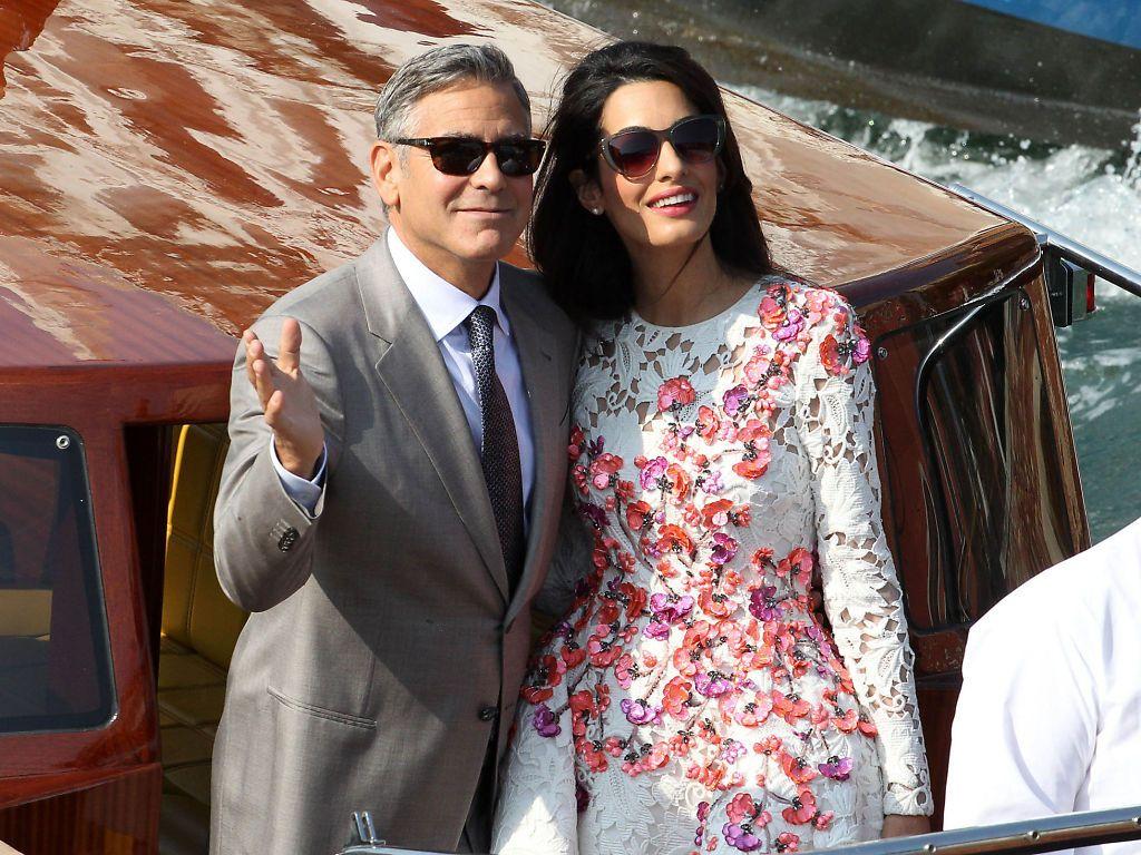 Brudens far mener George Clooney og datteren passer perfekt sammen.