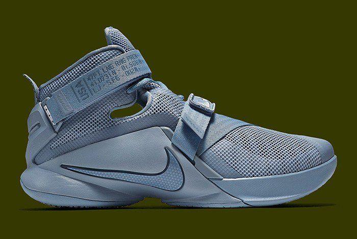 8afc2fa7278 Nike Lebron Soldier 9- Military Matte