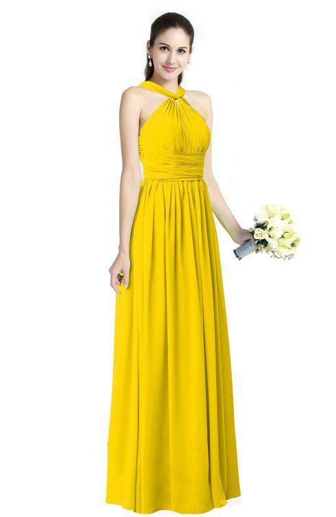 Yellow Bridesmaid Dresses Wedding Ideas Pinterest Yellow
