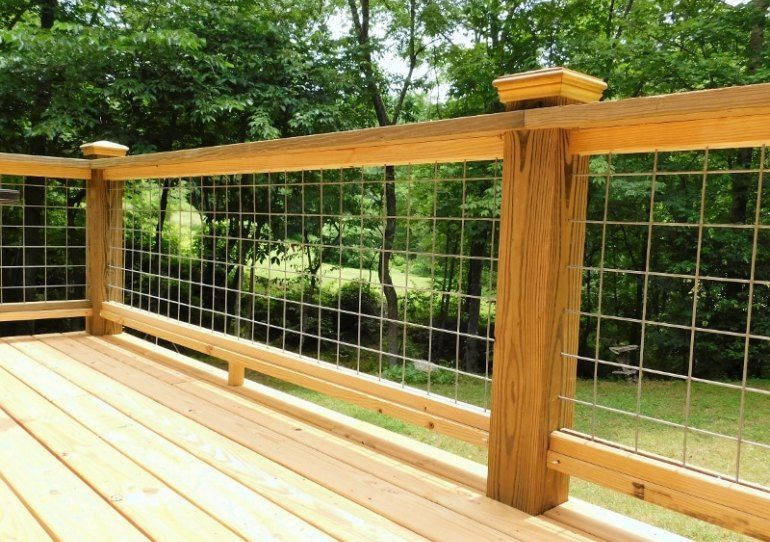 Best A Cost Conscious See Through Deck Railing Made With 400 x 300