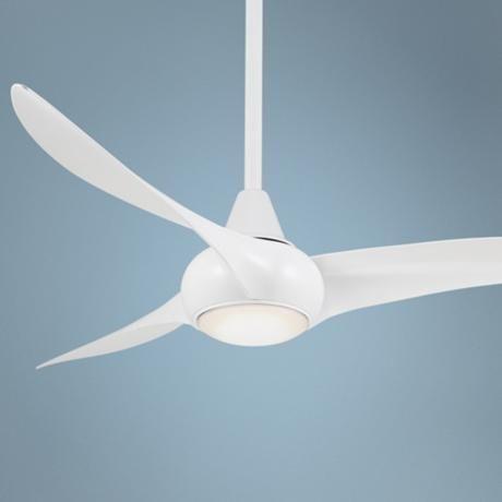 52 Minka Aire Light Wave White Ceiling Fan 4t479 Lamps Plus