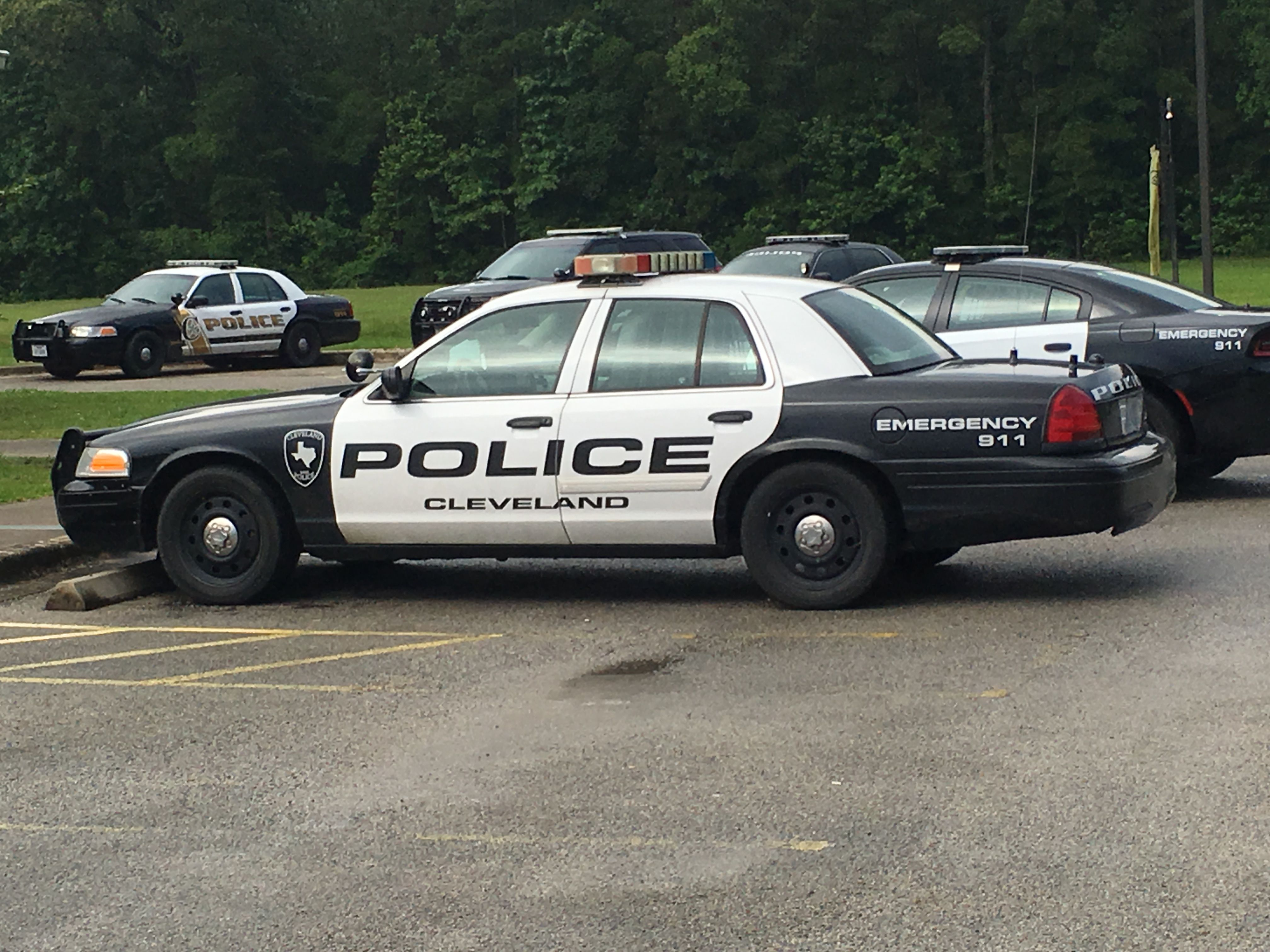 Cleveland Police Department Ford Crown Victoria Texas Police Cars Cleveland Police Police