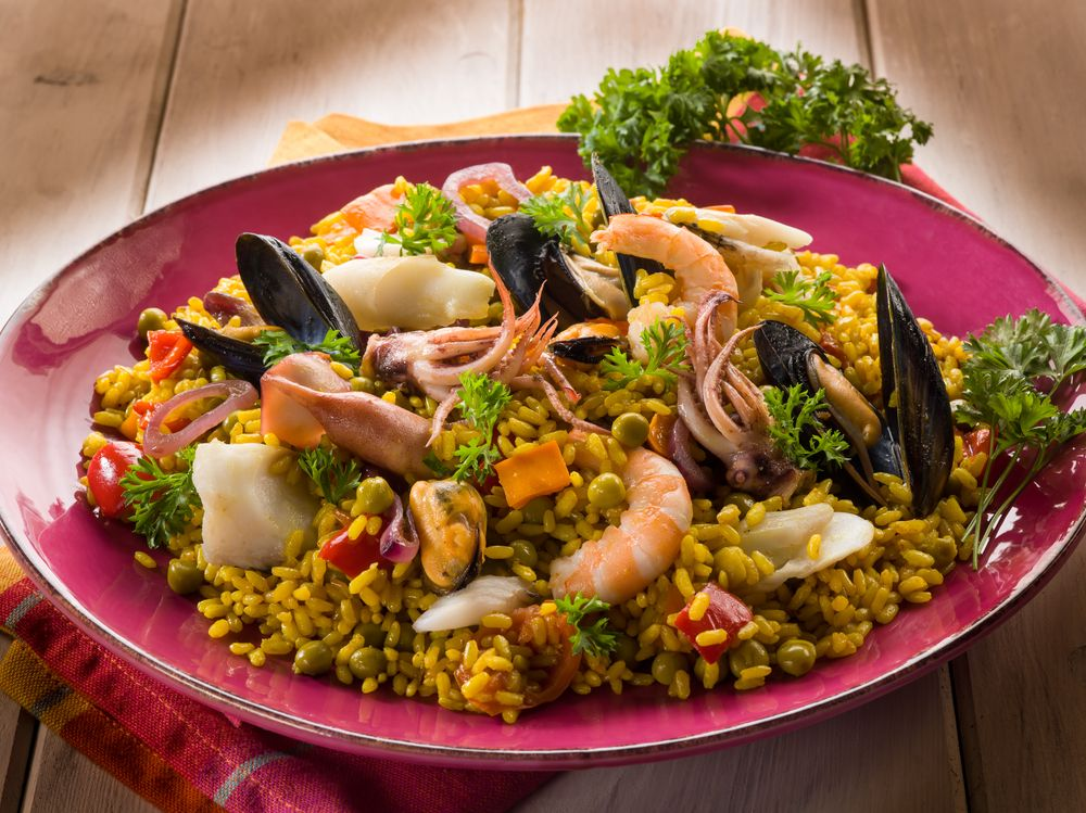 30 minute easy seafood paella from recipethis recipethis 30 minute easy seafood paella from recipethis forumfinder Choice Image