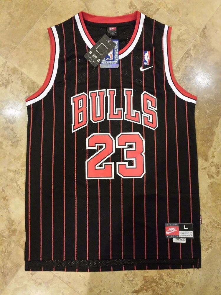 Nike #Chicago Bulls Michael Jordan Throwback #NBA Jersey