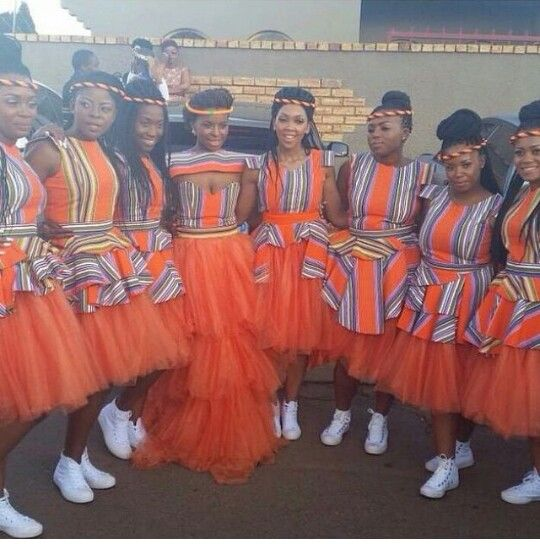 Traditional Wedding Ideas South Africa: African Traditional Dresses