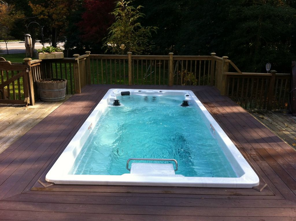 NEW Endless Pools Swim Spa www.EndlessPools.com | D. in the swim ...