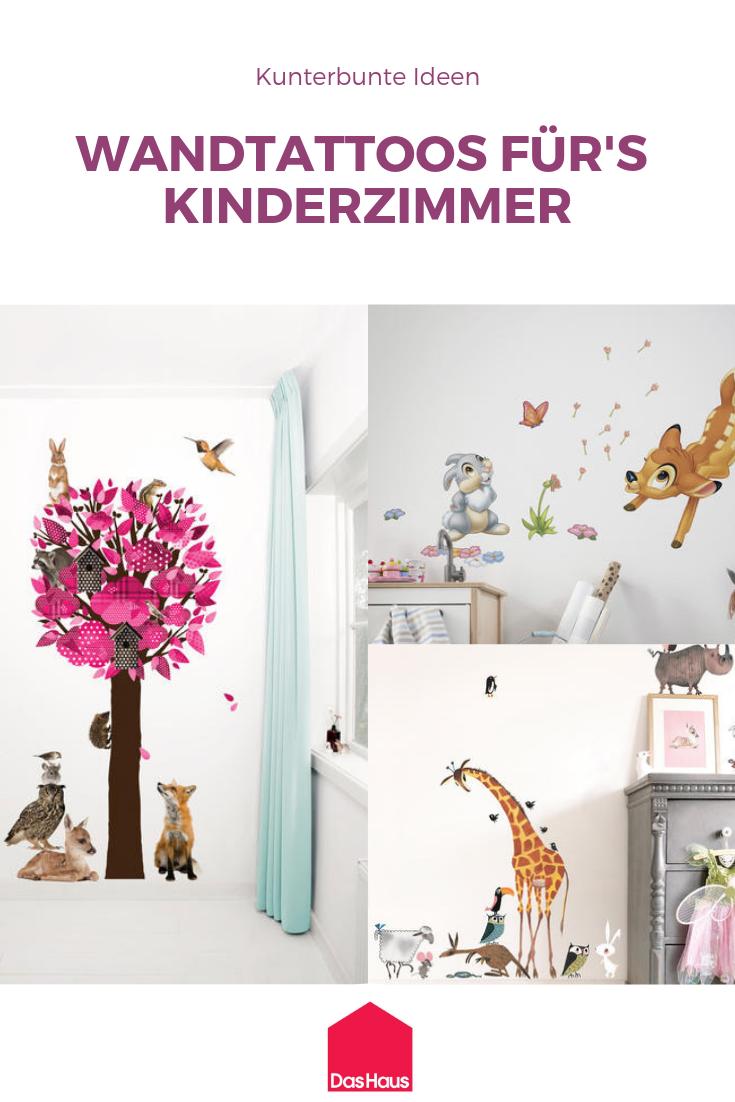 Wohndesign-artikel wandtattoo fürs kinderzimmer in   wandideen  pinterest