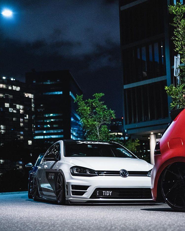 Mk7 R On Vossen S Rate 1 10 Vw Shirts Link In Vw C1ub Bio Tidy7r Volkswagen Gti Volkswagen Golf Gti