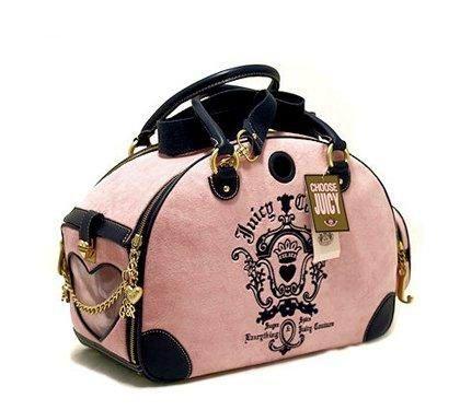 Juicy Couture Pet Carrier Dog Bag Designer Dog Bag Pet Bag