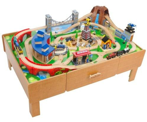Toys R Us Imaginarium Clic Train Table Picture For Putting The Tracks Back Together