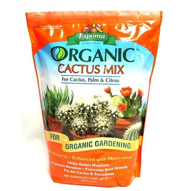 Espoma Organic Cactus Mix Succulent Soil Succulent Potting Mix Cactus Care