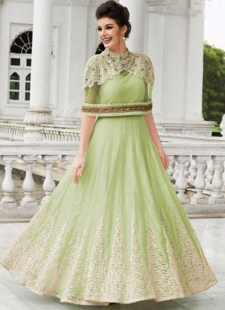 Pin by angelnx.com on Gown | Pinterest | Long anarkali gown ...