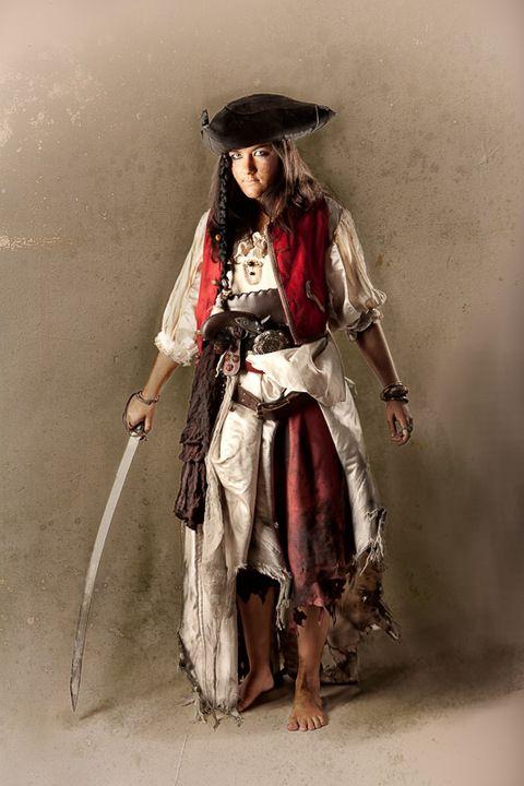Bonny pirate fille costume nouveau-femmes Carnaval Déguisement Costume