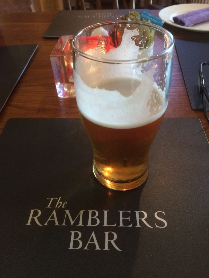 Ramblers Inn, Glenriding is a great place to stop on a walks around Ullswater.... good food too.