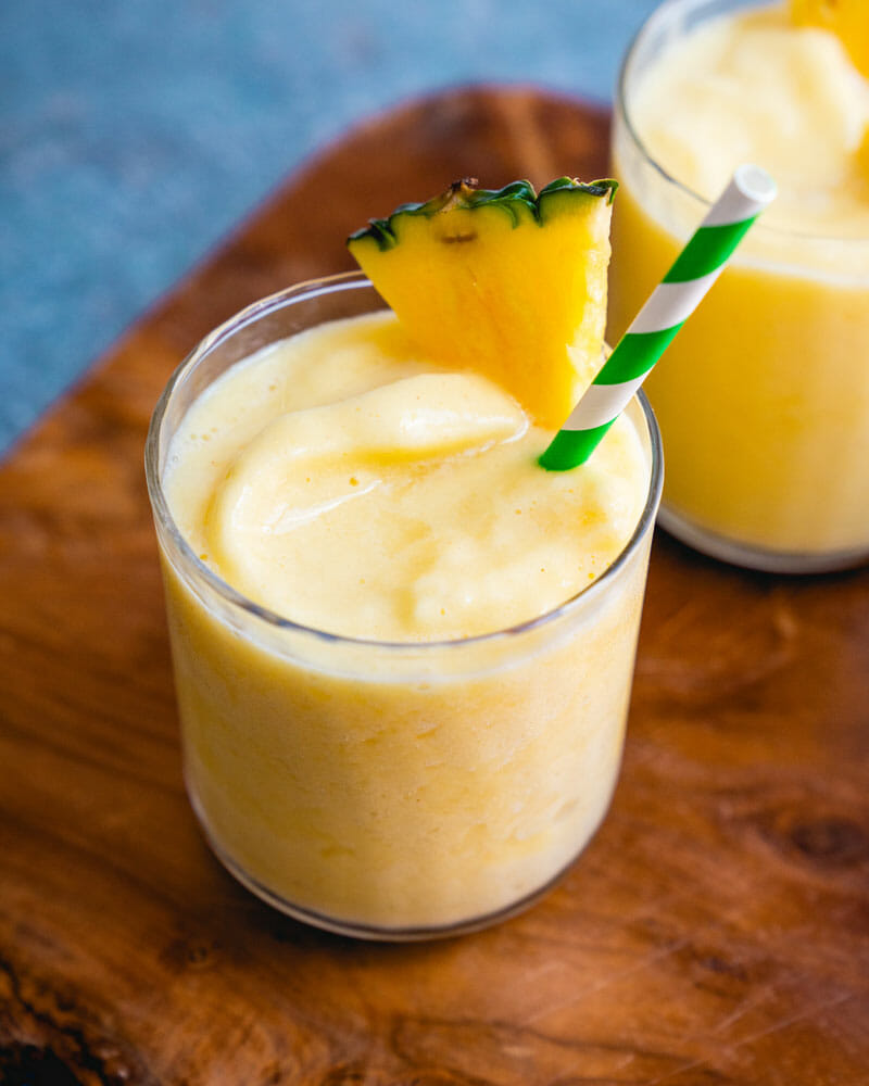 Perfect Pineapple Smoothie A Couple Cooks Recipe Pineapple Smoothie Smoothie Recipes Healthy Breakfast Recipes