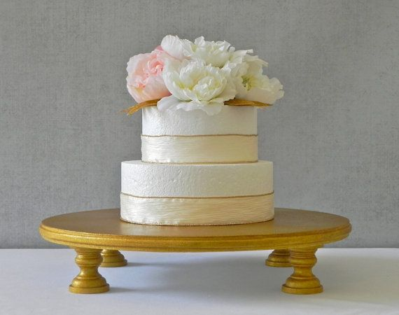 Gold Cake Stand 14 Wedding Cake Stand Rustic Wedding Decor Gold Cake Stand E Isabella Designs Featured In Martha Stewart Weddings