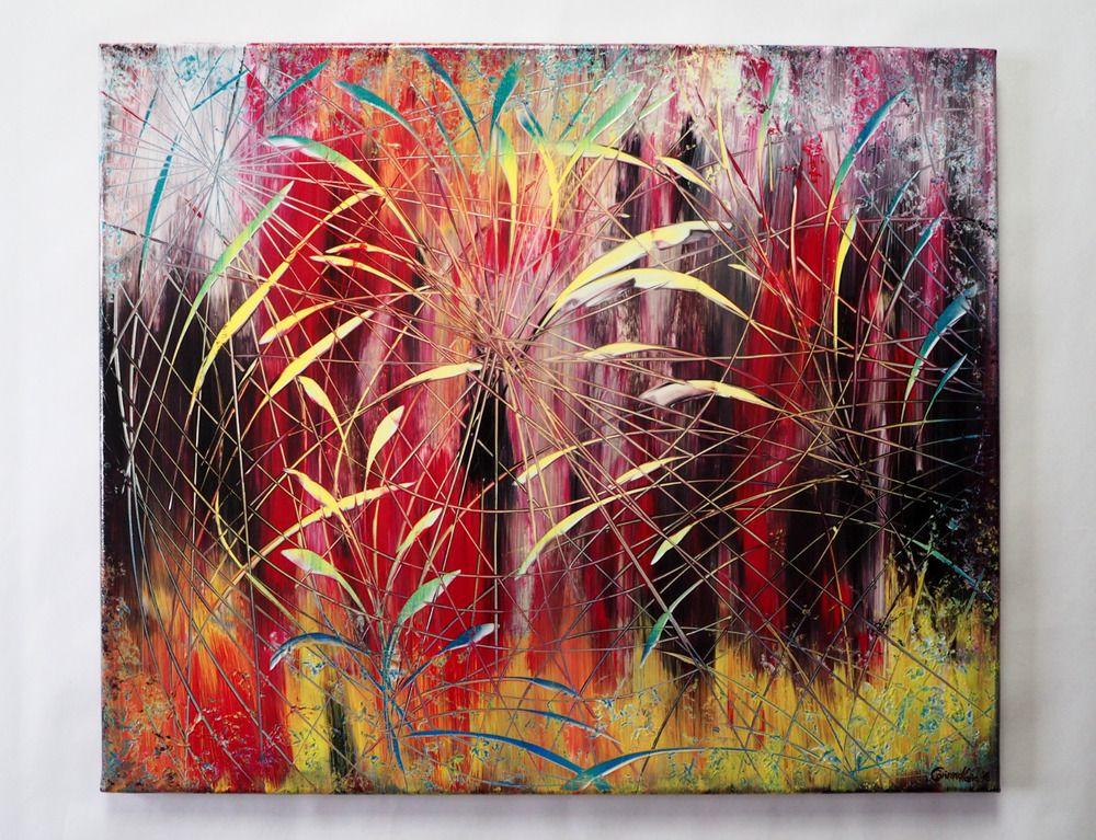 pin auf abstrakt corinnamariaart bilder orange kunst abstrakte malerei