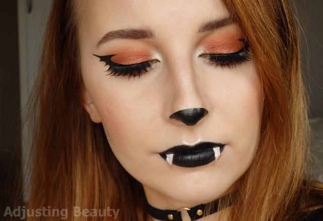 Cute Bat Halloween Makeup With Images Cute Halloween Makeup