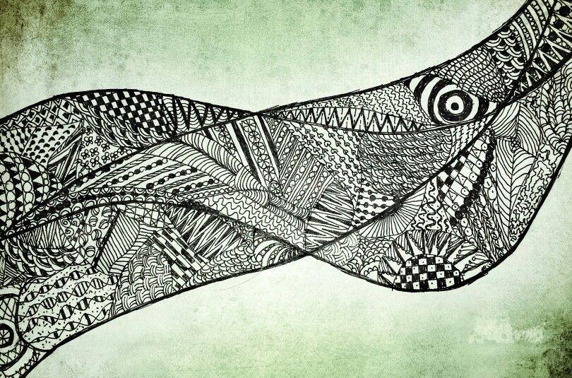 Zentangle by Saskya