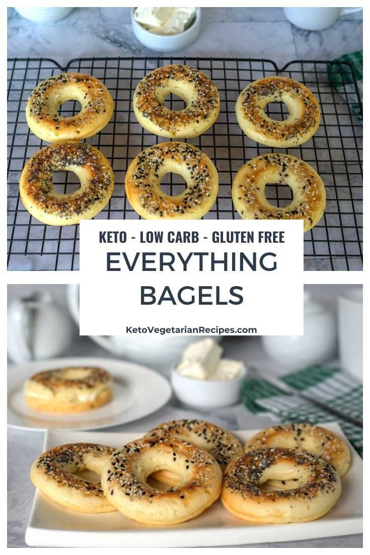 Keto Everything Bagels Recipe in 2020 Best low carb