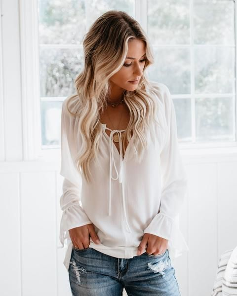 972892dbb Classic Tale Blouse - White in 2019