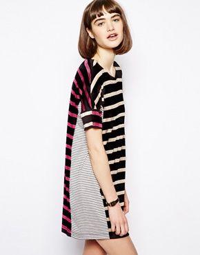 Image 1 ofAntipodium T-Shirt Dress in Stripe