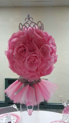 Tutus And Tiaras Baby Shower Party Ideas | Photo 10 Of 67