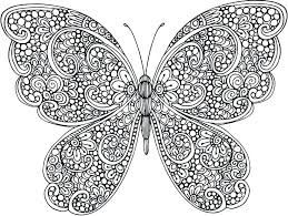 Image result for free printable tribal butterfly coloring ...