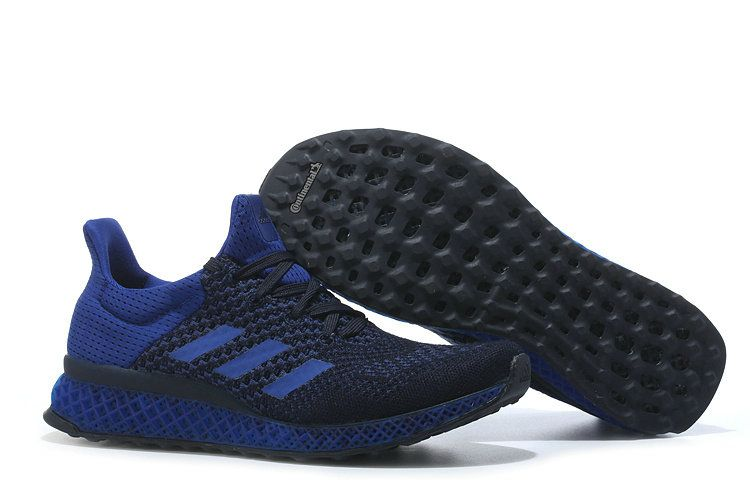 1158cf584 Adidas Futurecraft 3D PRINTED Ultra Boost Royal Black UK Trainers 2017 Running  Shoes 2017