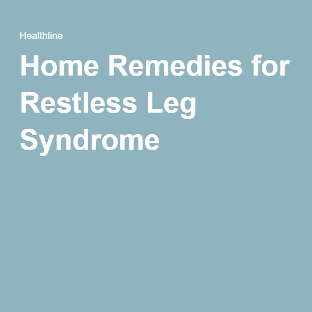 Home remedies for restless leg syndrome remedies home remedies for restless leg syndrome fandeluxe Choice Image
