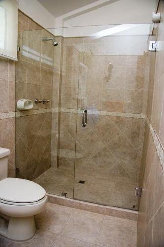 Puertas de bano corredizas y batientes en cristal templado - Puerta corrediza para bano ...