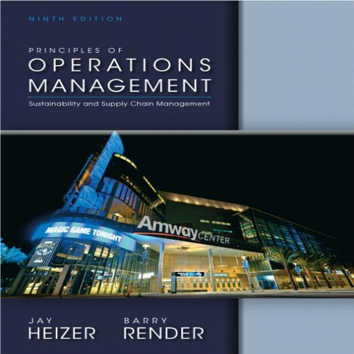 Test bank for principles of operations management 9th edition by test bank for principles of operations management 9th edition by heizer and render fandeluxe Image collections