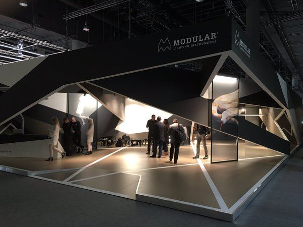 Exhibition Stand Lighting Requirements : Modular lighting instruments stand at light building