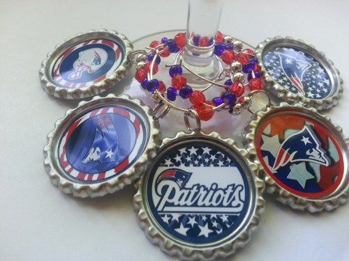 Christmas Gifts, Birthday Gifts and Party Favors, Sports teams Wine Charms, Glass Charms, Beer bottle charms and more..