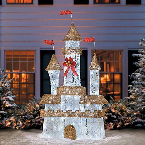 Prelit Led Royal Castle72 Best Value Buy On Amazon Christmastree