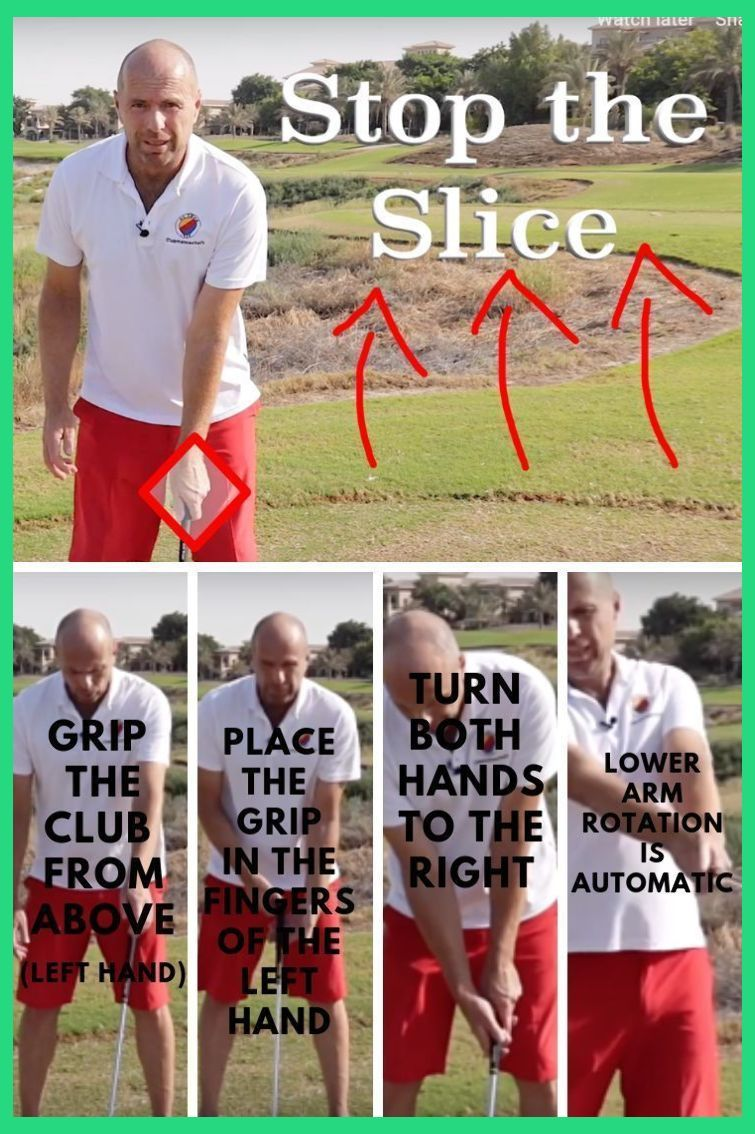 How To Fix Your Golf Swing Slice Slicing Driver But Not