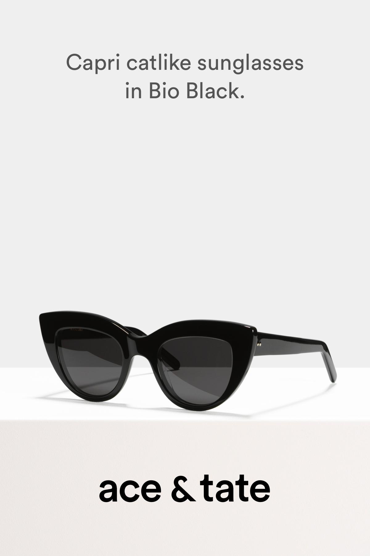 20e635ba9268 Capri - Catlike sunglasses - Black - View More | تزیینی in 2019 ...