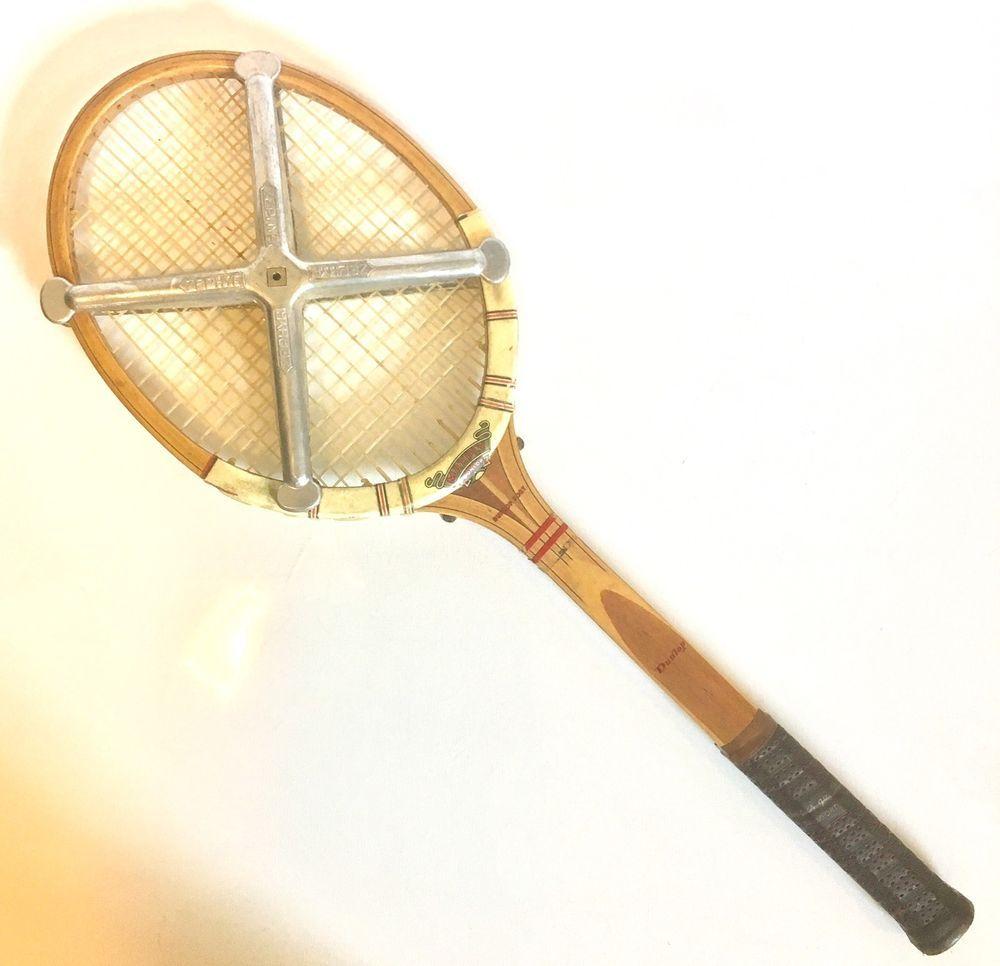 Dunlop Fort Maxply Wood Frame 4 5/8 Grip Tennis Racquet Racket ...