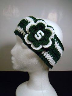 michigan state university knit ear warmer wrap - Google Search ... f833dd46fc3f