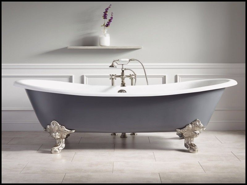 Awesome Extra Long Clawfoot Tub Gray Clawfoot Tub Clawfoot Tub
