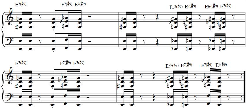 Funk Piano Chords 2 Keyboard Chord Progressions Pinterest