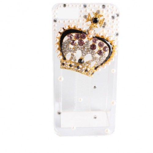 $9.99   Luxury Sparkling Bling Crystal Diamond crown pattern case for iphone 5