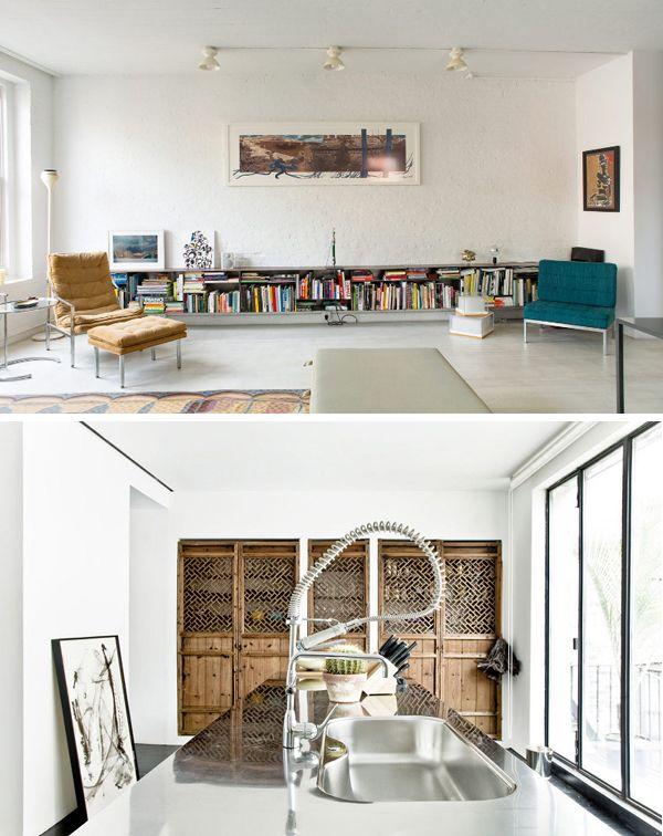 A STUNNING HOME IN A CONVERTED JEWISH SCHOOL IN NYC THE STYLE Cool Interior Design School Nyc Concept