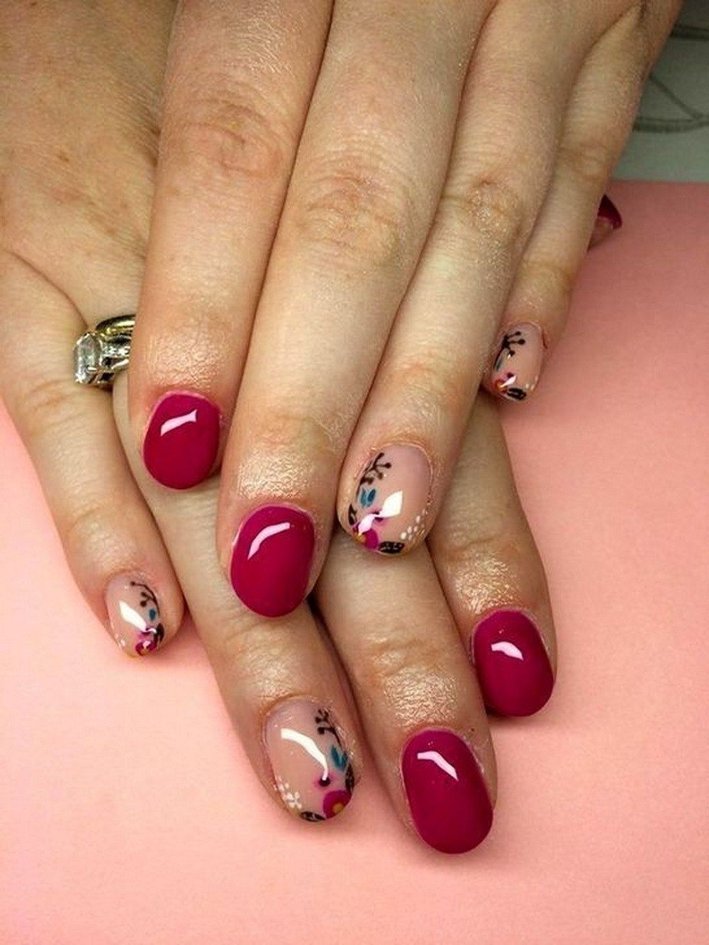 flower nail art season city