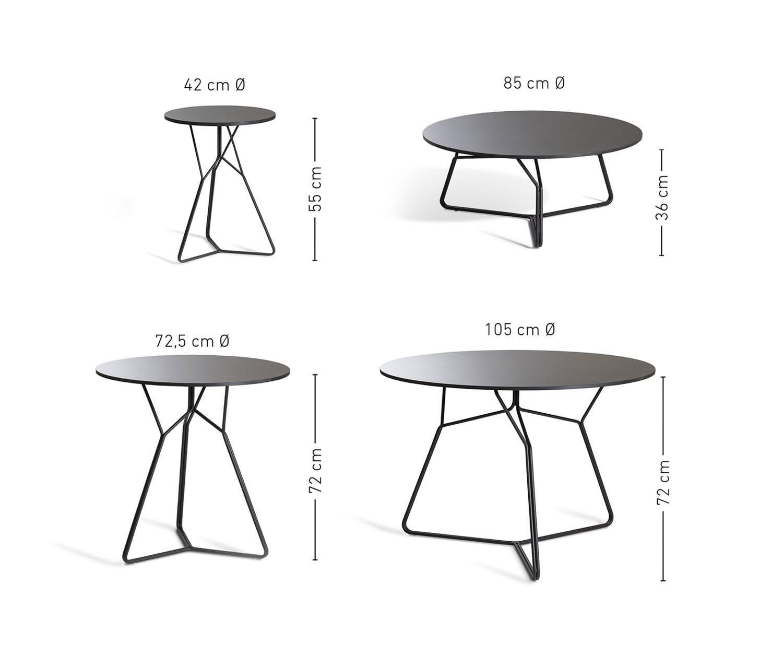 Oasiq Serac Edelstahl Gartentisch Home Decor Table Furniture