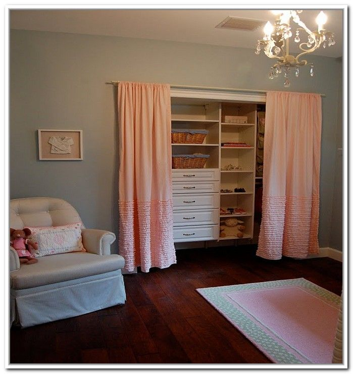 Exceptional Replacing Sliding Closet Doors With Curtains